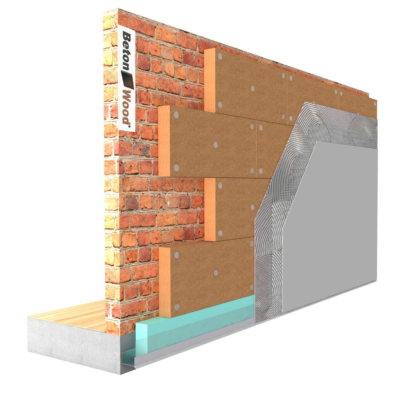 Fibra legno per cappotto termico esterno - Cappotto termico esterno prezzi ...