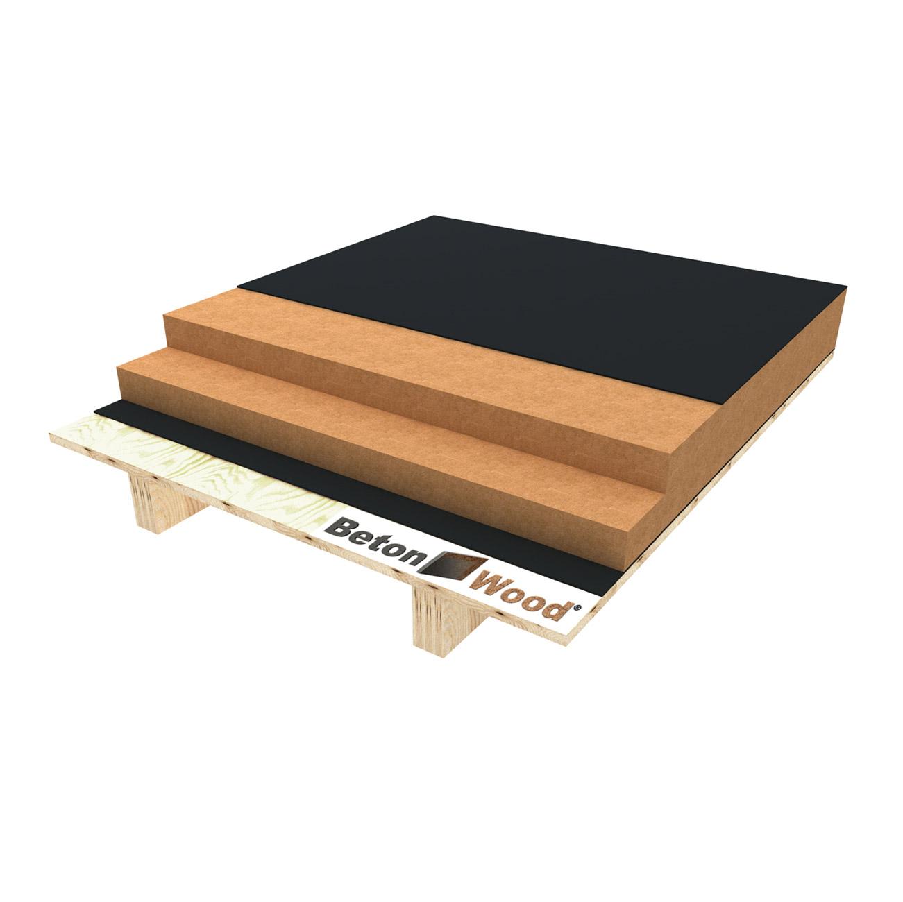 Fibra legno per massetti a secco - Pannelli isolanti per sottotetto ...